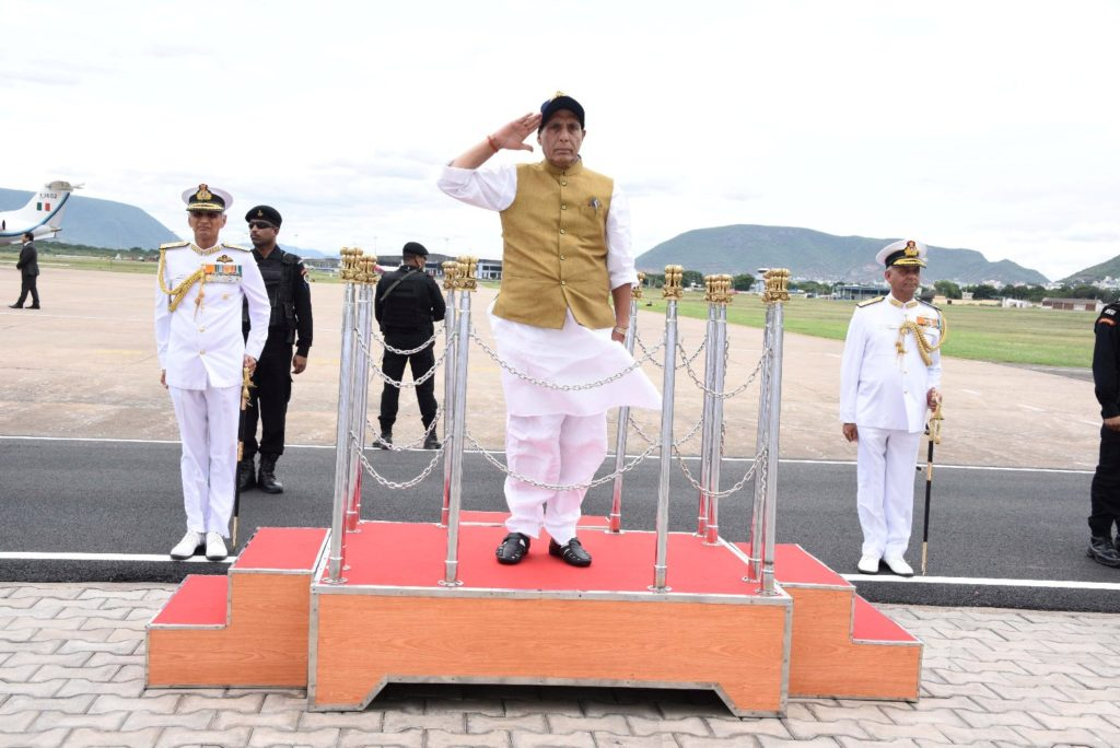Rajnath Singh approves a four-fold increase in funds to families of battle casualties 1