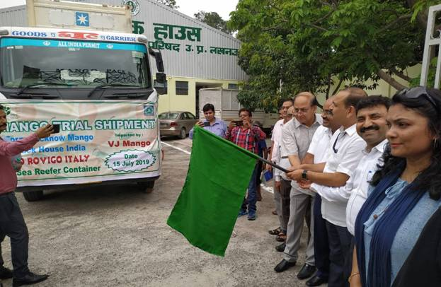 First Trial Shipment of North Indian Mangoes from Lucknow to Italy 1