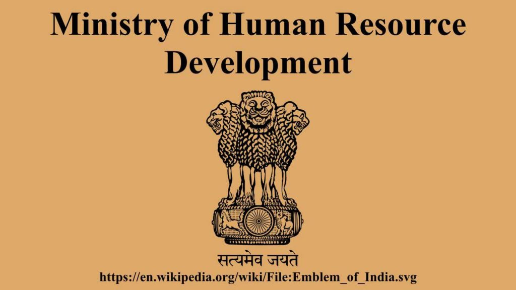 An Innovation Cell has been established in HRD Ministry to