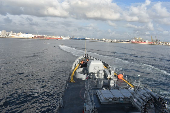 Indian Navy Dispatches its Deep Submergence Rescue Vessel 1