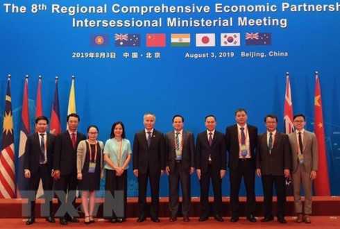 India Participates in 8th RCEP Inter-Sessional Ministerial Meeting in Beijing 1