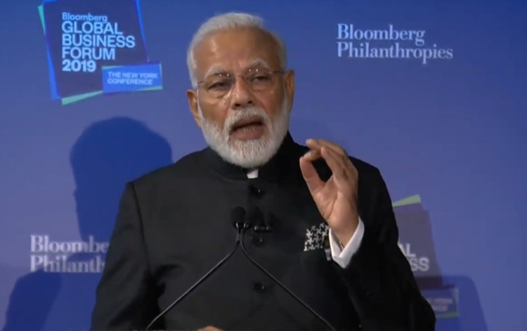 PM delivers the keynote address at Bloomberg Global Business Forum 1