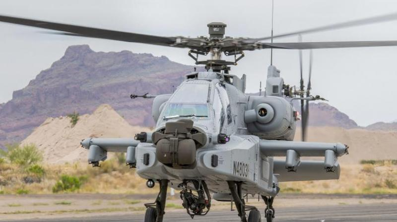 8 US made Apache AH-64E attack helicopters to be inducted into IAF today 1