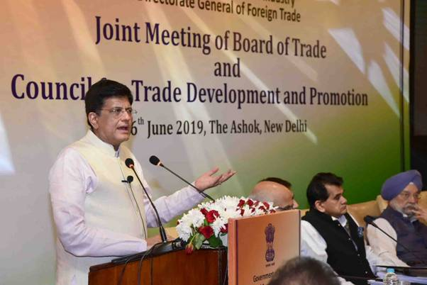 Commerce & Industry Minister Addresses Board Of Trade Meeting 1