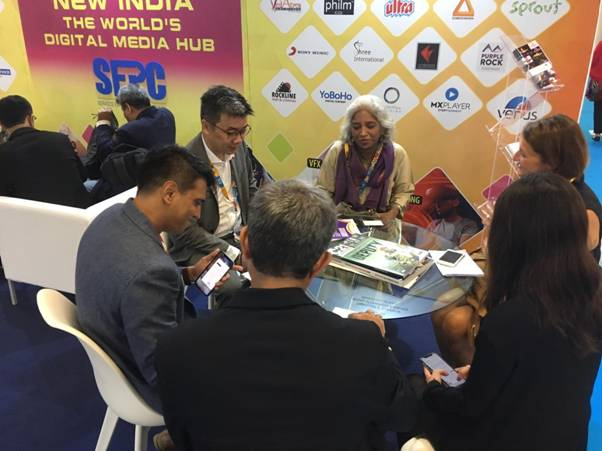 SEPC Launches India IP Guide at Cannes in MIPCOM 2019 1