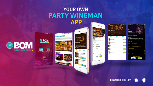 Now book your Parties with Baromeeter App 1