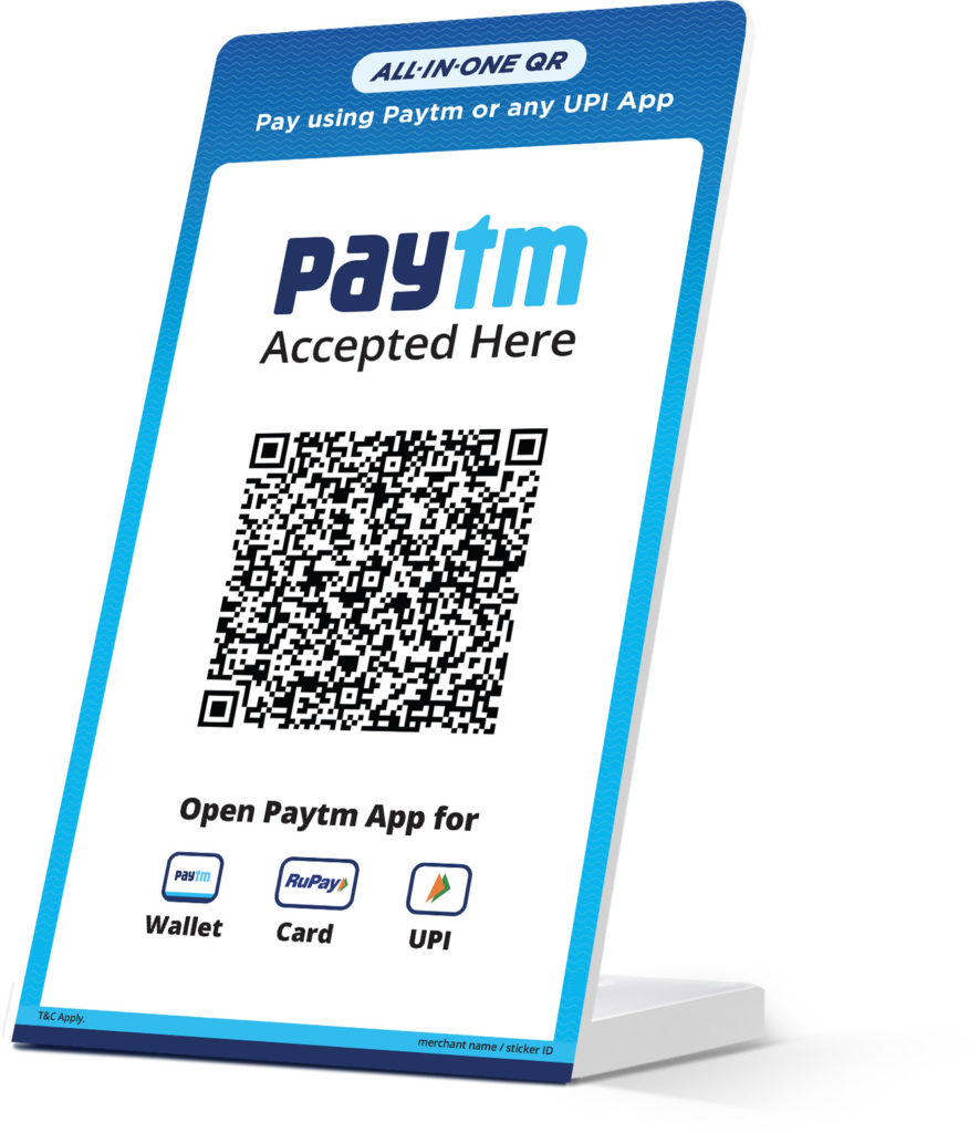 Paytm launches All-in-One QR for merchants with unlimited payments at 0% fee 2