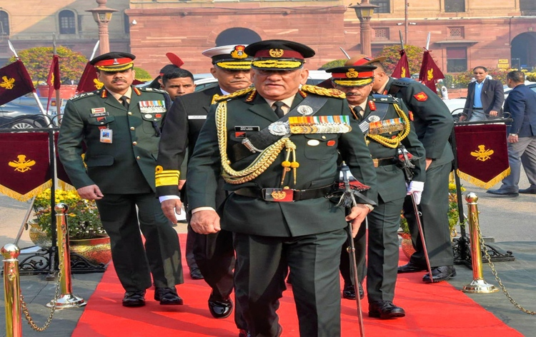General Bipin Rawat proposes the creation of Air Defence Command by June 30 1