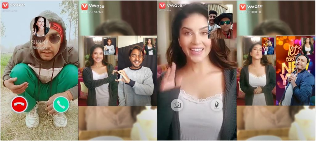 VMate's New Year Campaign with Sunny Leone Reaches to Over 2 million Users 1