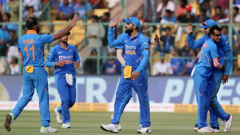 India won the T20 series against New Zealand 1