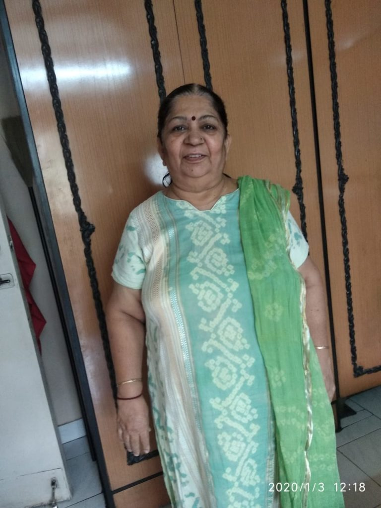 60-Year-Old Woman got treated for Bilateral Knee Replacement Surgery for Fulfiling Her Dream of Visiting Son 1