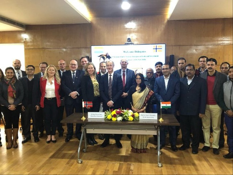 1ST Session of India-Norway Dialogue on Trade & Investment Held in New Delhi 1