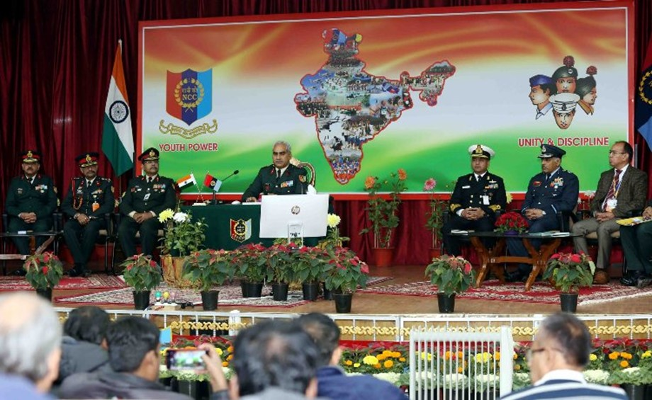 NCC committed to groom youth into responsible citizens, says DG NCC Lt Gen Rajeev Chopra 1