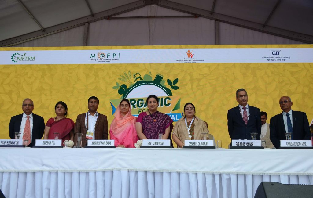 Financial Inclusion of Women producers through Business Linkages During Organic Food Festival 1