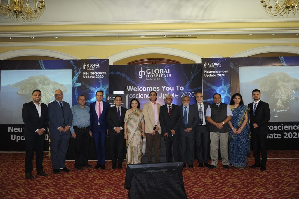 Around 400 Doctors across Mumbai Participated in the Neurosciences Update 2020 conducted by Global Hospital 1