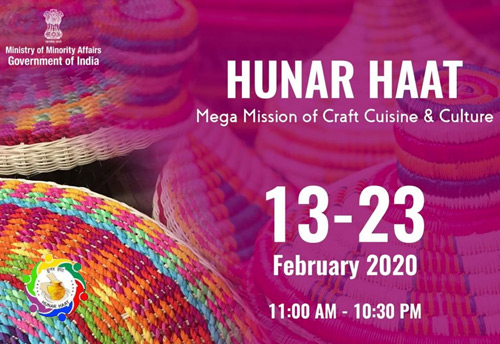 """""""Hunar Haat"""" to be organised at India Gate Lawn in New Delhi 1"""
