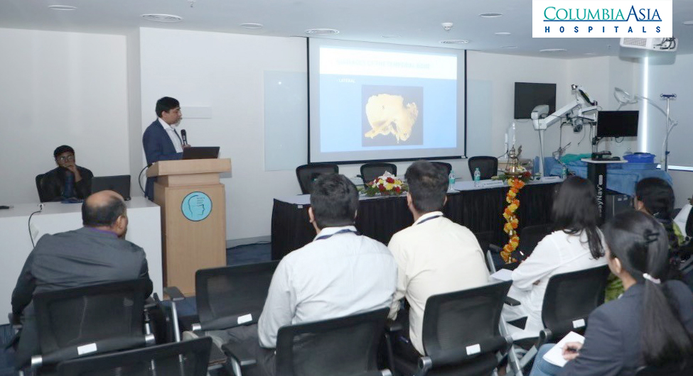 Two Day Workshop with Live Surgeries to Demonstrate Complex Skull Based Procedures held at Columbia Asia Hospital 1