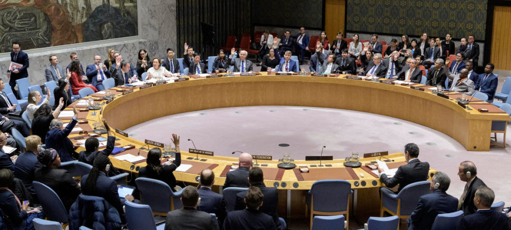 """UN Security Council adopts resolution for """"lasting ceasefire"""" in Libya 1"""