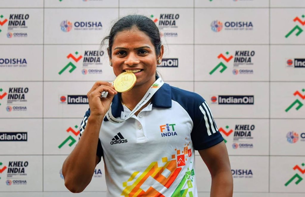 Khelo India University Games: Dutee Chand wins gold in 200 meters race 1