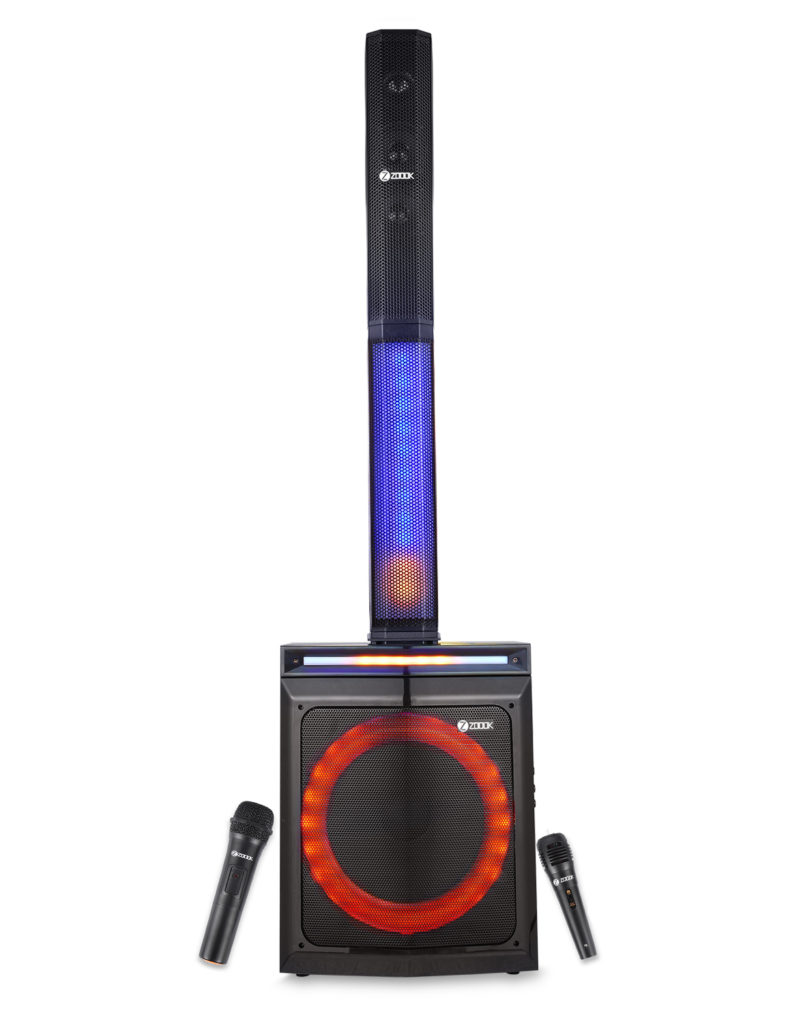 ZOOOK unveils Party Rocker –first-of-its-kind Bluetooth Party Speaker 1
