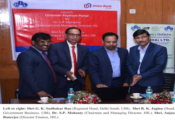 Launch of Customer Payment Portal by HIL (India) Limited 1
