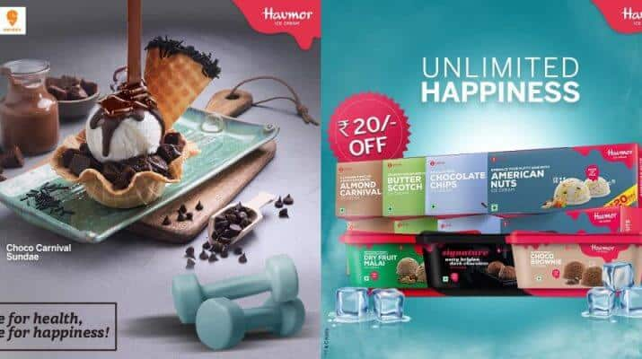 Havmor Ice Cream Partners with Dunzo for Delivery Services 1