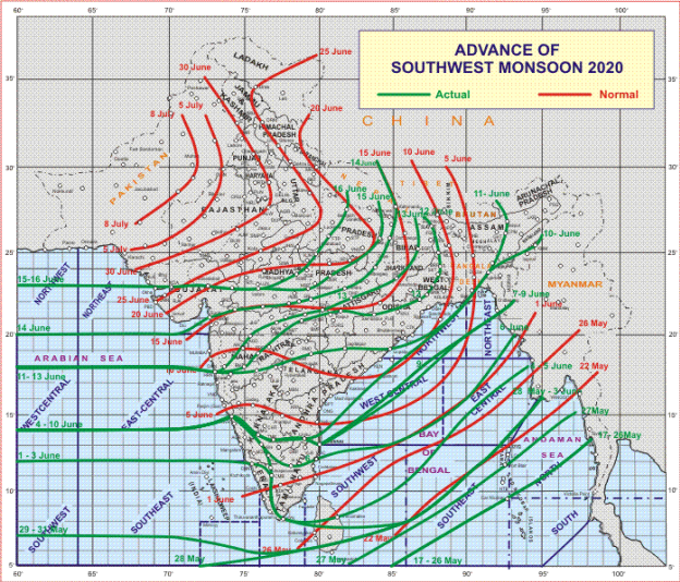 A Low-Pressure Area is likely to form over north Bay of Bengal & neighborhood around 19th June 1