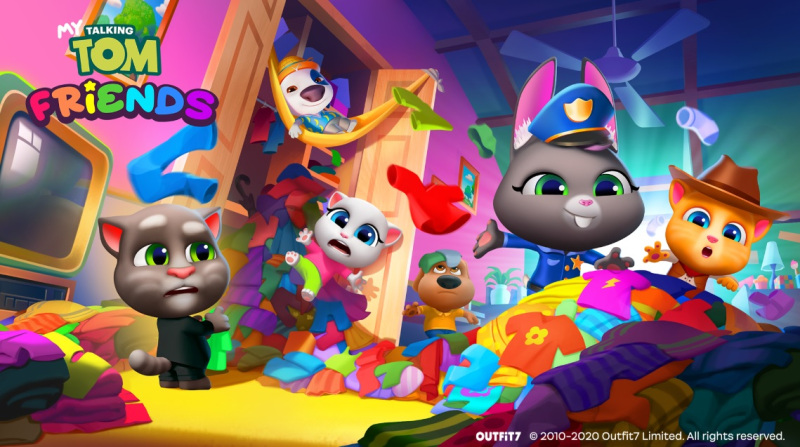 My Talking Tom Friends Is Now Available Worldwide 1