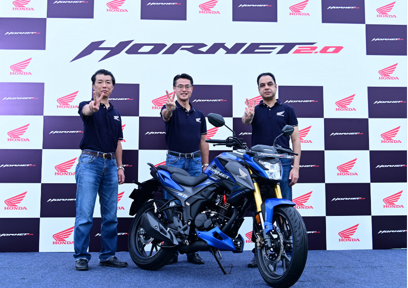'Fly Against the Wind' Honda debuts in 180-200cc segment with muscular, sporty & advanced Hornet 2.0 4