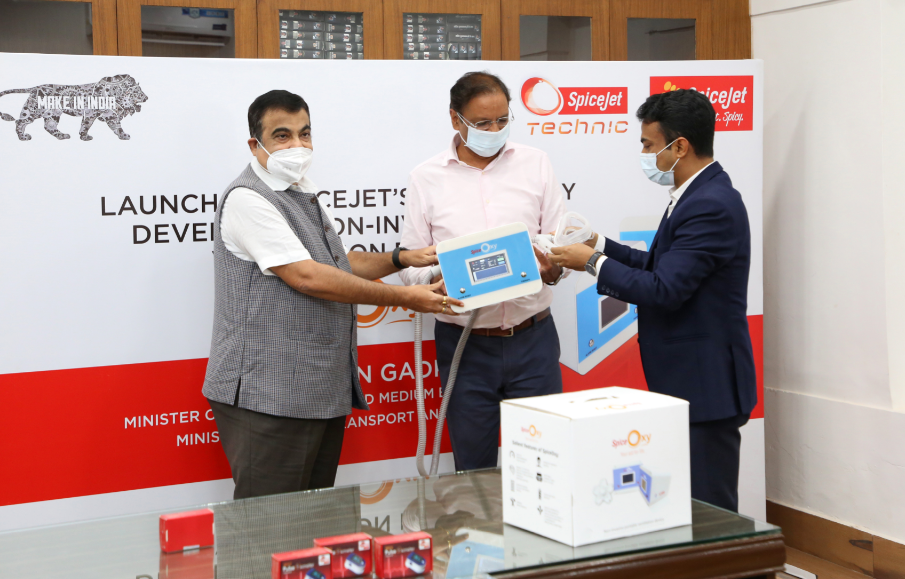 SpiceJet introduces ingeniously developed, non-invasive, portable ventilators in its fight against COVID-19 1