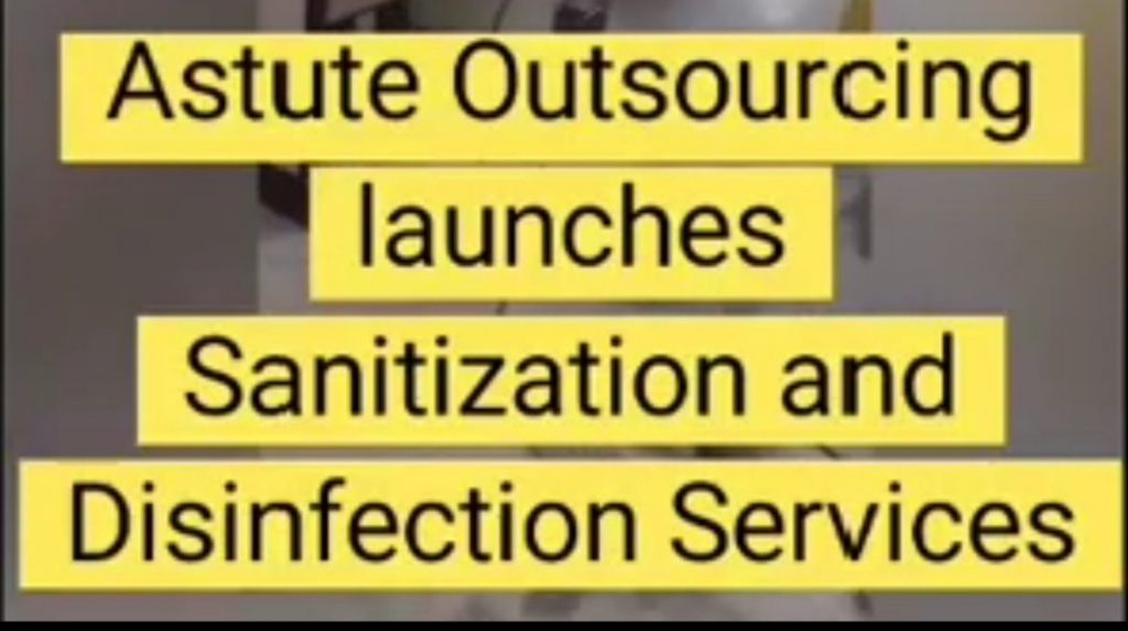 Astute Outsourcing Services Pvt Ltd offers end to end Home Sanitization & Disinfection Services 1