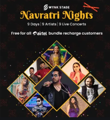 Wynk Music announces first of its kind 'Navratri Nights' Online Concerts 1