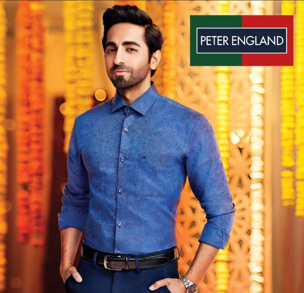 Peter England launches festive campaign featuring Ayushmann Khurrana 1
