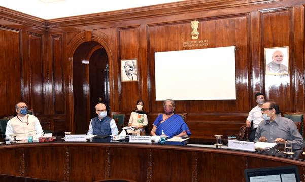 Finance Minister Smt. Nirmala Sitharaman holds 4th review meeting on CAPEX of CPSEs 1