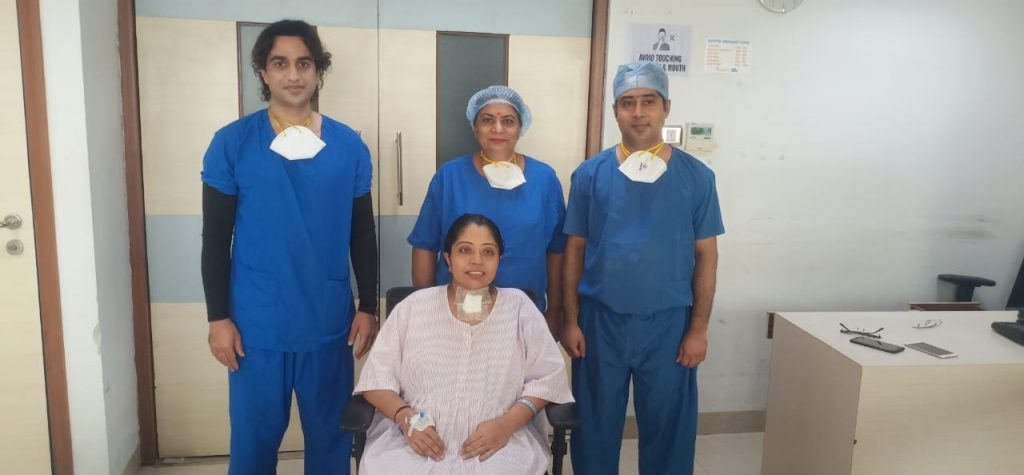 A Critical Covid Positive Woman Successfully Gives Birth to A Premature Baby 1