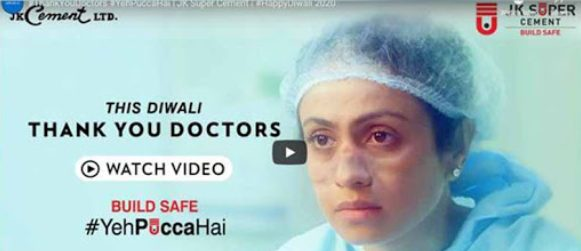 JK Super Cement thanks doctors this Diwali through a deeply moving film 1