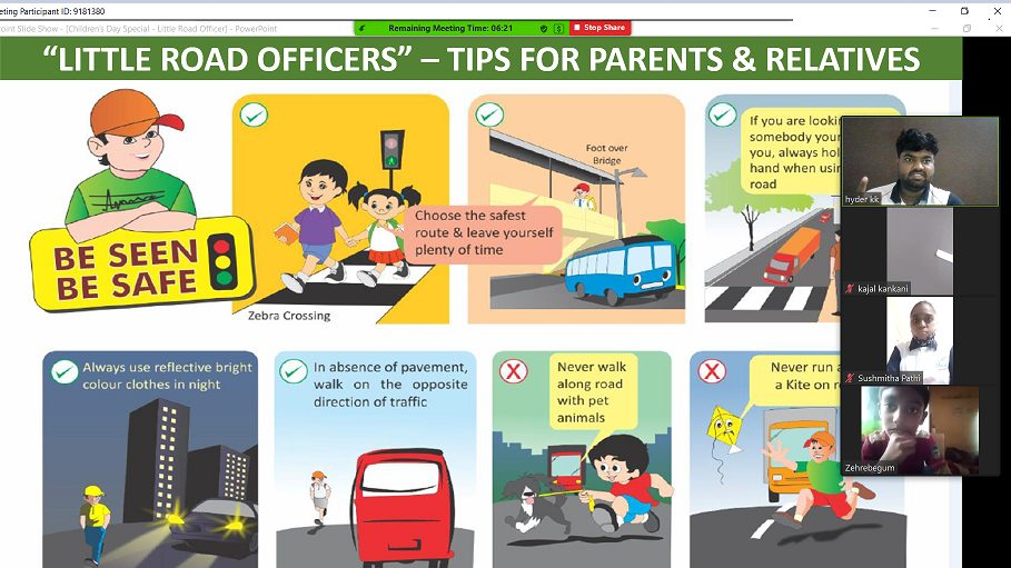 This Children's Day, 6100+ kids pledge to be 'Little Road Officers' with Honda 1