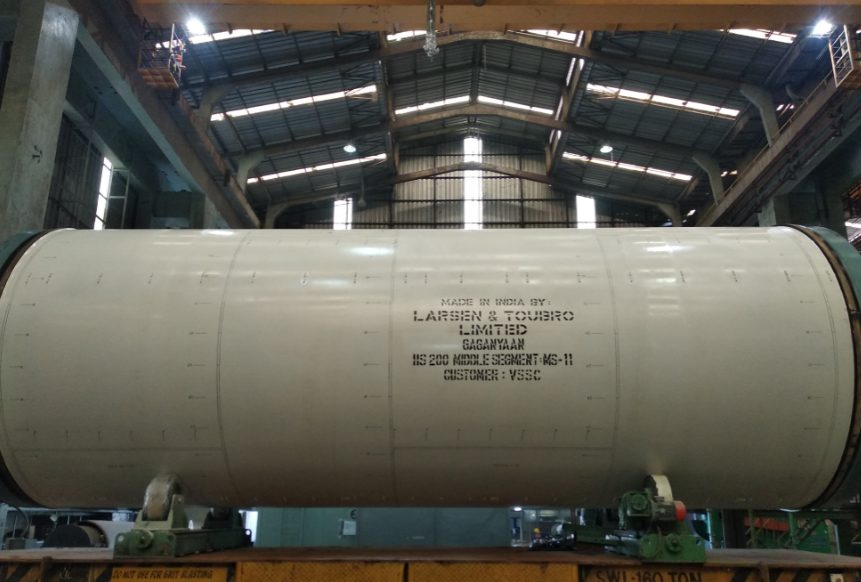 L&T Delivers India's First Launch Hardware for Gaganyaan Mission Despite Covid-19 Restrictions 1