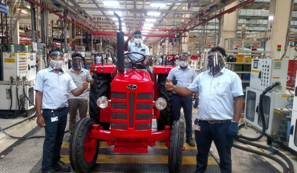 Mahindra's tractor plant to be Hub for New K2 Tractor Series 1
