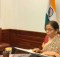 Finance Minister Smt. Nirmala Sitharaman attends the G20 Finance Ministers virtual meeting 7