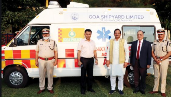 Advanced Life Support Ambulance handed over to Goa Police 1