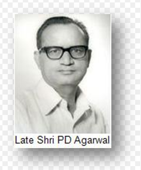 Govt of India Unveils the Stamp of The Late Shri Prabhu Dayal Agarwal 1