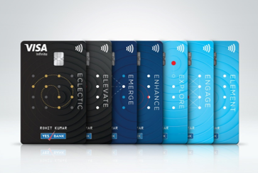 YES BANK partners VISA to introduces new line of E-series Debit cards 1