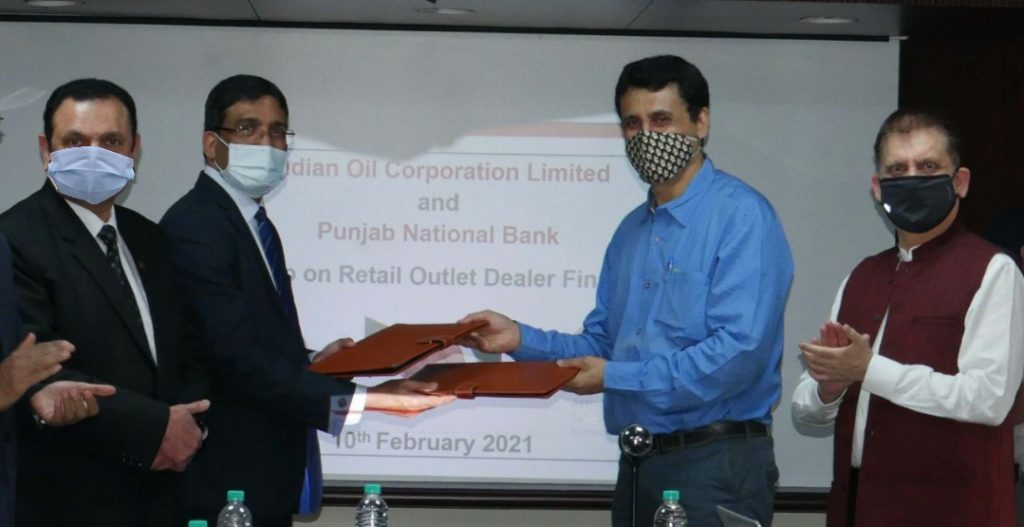 Punjab National Bank signs MOU with IndianOil for E-Dealer Financing 1
