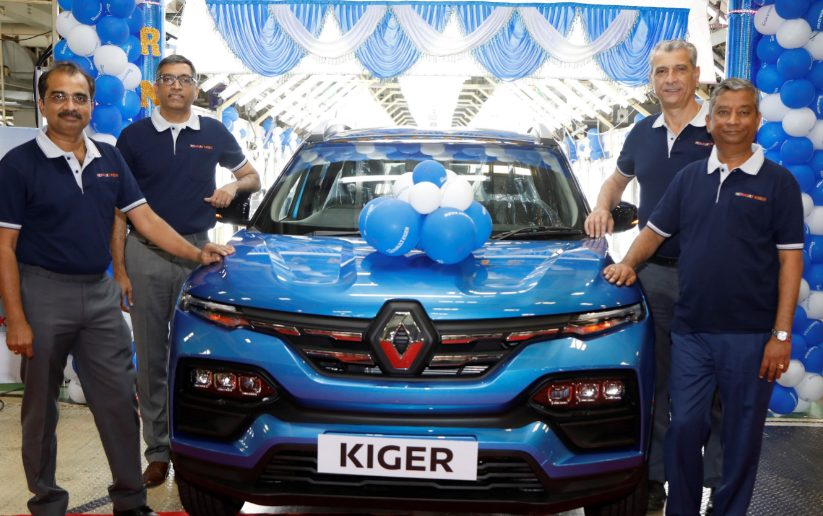 Renault India Commences Mass Production of Renault KIGER 1