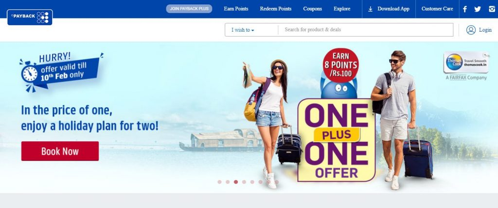 PAYBACK & Win Bonus Points, Coupons, Vouchers & Travel Bookings 1