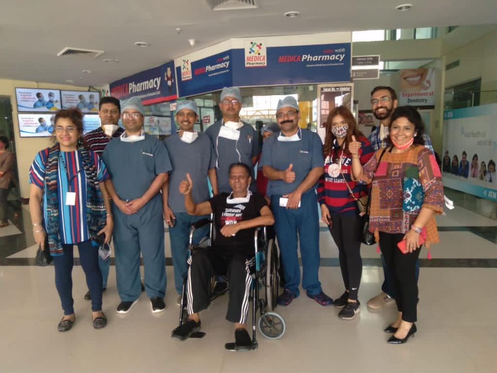 Medica Superspecialty Hospital breathes new life into COVID Warrior 1