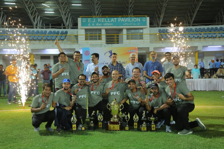 PFC secured 2nd runner-up position in Power Cup 2021 (Delhi) T-20 Cricket Tournament 1