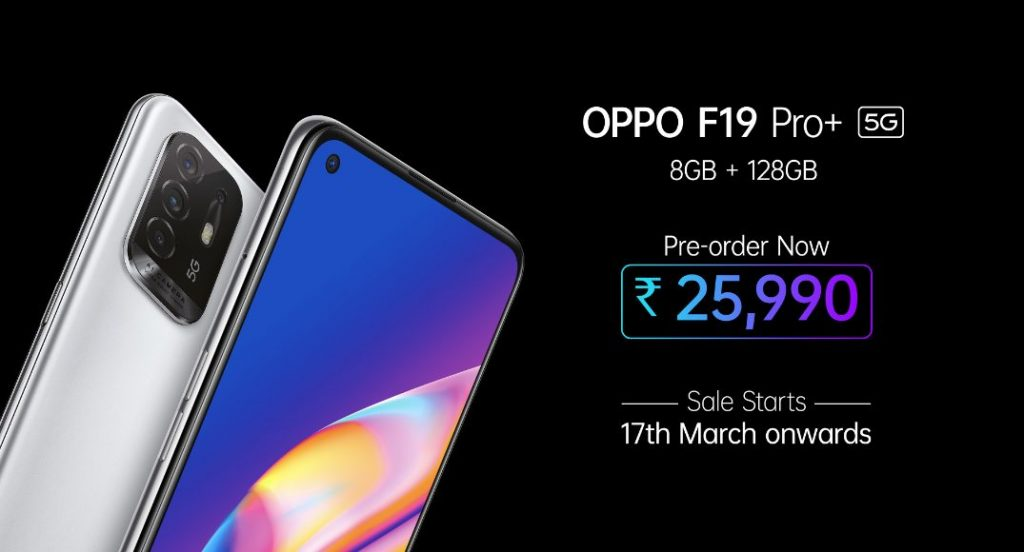 OPPO India introduces F19 Pro Series with 5G along with OPPO Band Style 1