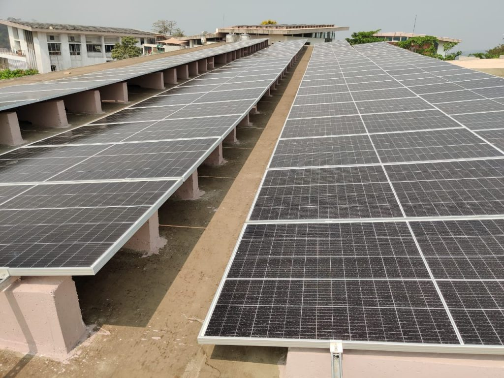 NEW STATE OF THE ART SOLAR FACILITY COMMISSIONED AT LEADING B-SCHOOL GOA INSTITUTE OF MANAGEMENT 1